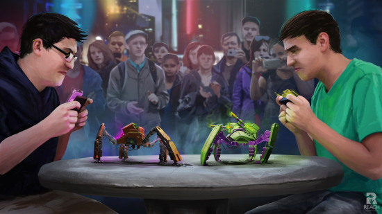 Les Mecha Monsters, des robots de combat évolutifs et personnalisables
